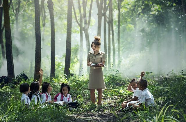 teacher student photo